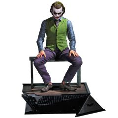 Joker (Heath Ledger) - 1/3 Statue - The Dark Knight - Queen Studios