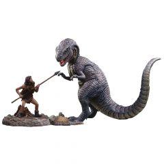 Allosaurus & Tumak - Soft Vinyl Figure Set - One Million Years B.C. - Star Ace
