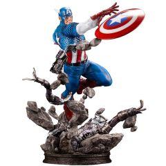 Captain America - Fine Art Statue - Marvel Universe - Kotobukiya