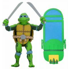 """Leonardo - 7"""" Scale Action - Teenage Mutant Ninja Turtle: Turtles in Time - Neca"""