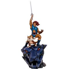Lion-O & Snarf BDS 1/10 Art Scale - Thundercats - Iron Studios