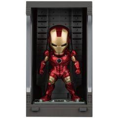 Iron Man Mark III with Hall of Armor - Mini Egg Attack - Iron Man 3 - Beast Kingdom