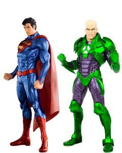 Pack Superman & Lex Luthor New 52 - DC Comics - Artfx+Statue - Kotobukiya