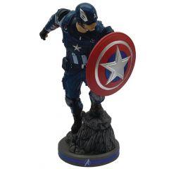 Captain America - 1/10 Scale Statue - Marvel's Avengers - Pop Culture Shock
