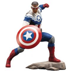 Captain America (Sam Wilson) - Marvel Comics - ArtFX+ Statue - Kotobukiya