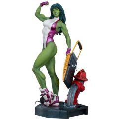 She-Hulk - Marvel Comics - Adi Granov Artist Series Statue - Sideshow Collectibles