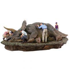 Triceratops  1/10 Diorama Deluxe Art Scale - Jurassic Park - Iron Studios