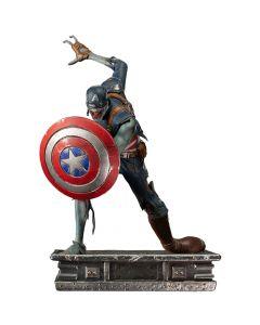 Captain America Zombie - 1/10 Art Scale - What If...? - Iron Studios