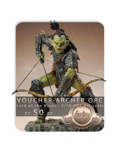 Voucher de Reserva - Archer Orc 1/10 BDS Art Scale - Lord Of The Rings - Iron Studios