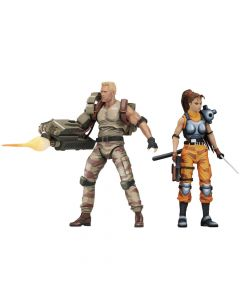 Dutch & Lin (Arcade Appearance) - Alien vs Predator - NECA