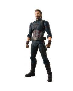 Captain America & Tamashii Effect - Avengers: Infinity War - S.H.Figuarts - Bandai