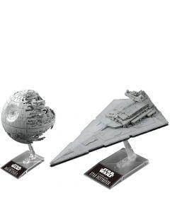 Death Star II & Star Destroyer - Model Kit Set - Star Wars - Bandai
