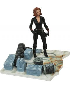 Black Widow - Marvel Select - Avengers: Age of Ultron - Diamond - COM DEFEITO