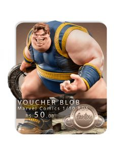 Voucher de Reserva - Blob 1/10 BDS Art Scale - Marvel Comics -  Iron Studios