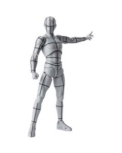 Body Kun Wireframe (Gray Color Ver.) - S.H.Figuarts - Bandai