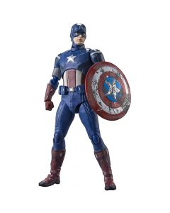 Captain America (Battle of New York Edition) - S.H.Figuarts - The Avengers - Bandai