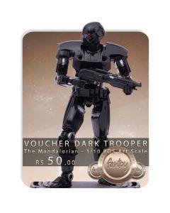 Voucher de Reserva - Dark Trooper - 1/10 BDS Art Scale - The Mandalorian - Iron Studios