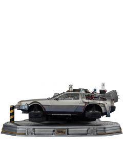 DeLorean (REGULAR) - 1/10 Art Scale - Back To The Future II - Iron Studios