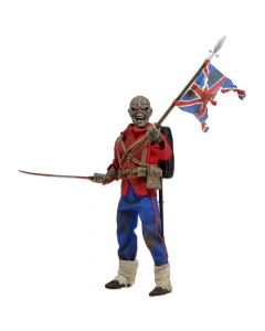 """Eddie (The Trooper) - 8"""" Clothed Action Figure - Iron Maiden - NECA"""