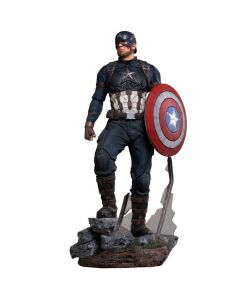 Captain America 1/4 Legacy Replica (VERSÃO REGULAR) - Avengers: Endgame - Iron Studios