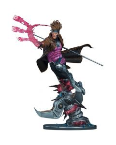 Gambit - Marvel Comics - Maquette - Sideshow Collectibles