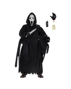 "Ghost Face - 8"" Clothed Figure - Scream - NECA"