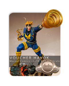 Voucher de Reserva - Havok - 1/10 BDS Art Scale - Marvel Comics - Iron Studios