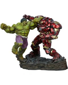 Hulk vs Hulkbuster - Maquette - Marvel Comics - Sideshow Collectibles