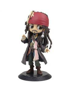 Jack Sparrow - Q Posket - Pirates of the Caribbean - Bandai / Banpresto