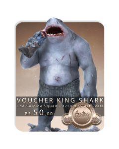 Voucher de Reserva - King Shark - 1/10 BDS Art Scale - The Suicide Squad - Iron Studios