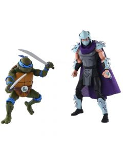 Leonardo Vs Shredder - Teenage Mutant Ninja Turtles - 2-Pack - Neca