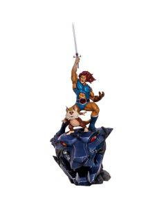 Lion-O & Snarf BDS 1/10 Art Scale - Thundercats - Iron Studios - COM DEFEITO