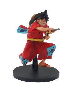 Monkey D. Luffy (Wano Country) - One Piece - King of Artist - Bandai/Banpresto