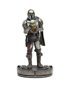 Mandalorian and Grogu 1/10 Art Scale - The Mandalorian - Iron Studios