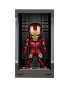 Iron Man Mark IV with Hall of Armor - Mini Egg Attack - Iron Man 3 - Beast Kingdom