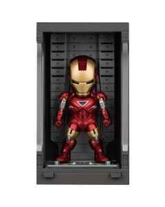 Iron Man Mark VI with Hall of Armor - Mini Egg Attack - Iron Man 3 - Beast Kingdom