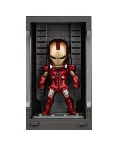 Iron Man Mark VII with Hall of Armor - Mini Egg Attack - Iron Man 3 - Beast Kingdom