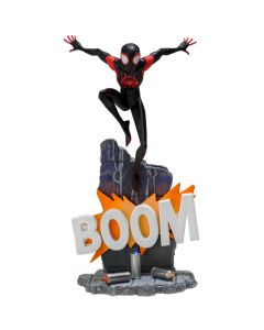 Miles Morales 1/10 BDS - Spider-Man: Into The Spider-Verse - Iron Studios - COM DEFEITO