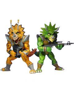 """Zarax and Zork - 7"""" Scale Action Figure - Teenage Mutant Ninja Turtle - Neca"""
