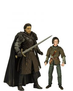 Pack Arya Stark & Robb Stark - Game of Thrones - Legacy Collection - Funko
