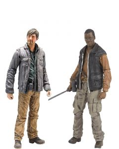 Pack Bob Stookey e Gareth - The Walking Dead - McFarlane