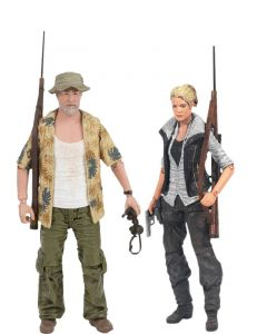Pack Andrea e Dale Horvath - The Walking Dead - McFarlane