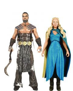 Pack Khal Drogo & Daenerys Targaryen (Mhysa) - Game of Thrones - Legacy Collection - Funko