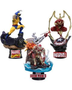 Pack Marvel - D-Stage - Beast Kingdom