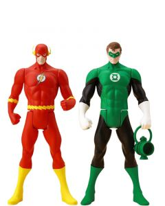 Pack Classic Flash & Classic Green Lantern - Super Powers - ArtFX+Statue - Kotobukiya