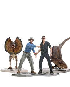 Pack Jurassic Park - 1/10 Art Scale - Iron Studios