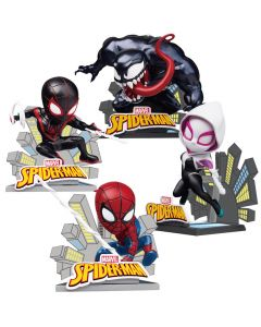 Pack Spider-Man: Into The Spider-Verse - Mini Egg Attack - Beast Kingdom