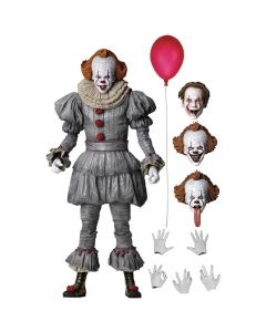 "Ultimate Pennywise - 7"" Scale Action Figure - It Chapter Two - NECA"
