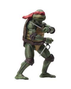 """Raphael - 7"""" Scale Action Figure - Teenage Mutant Ninja Turtles (1990) - NECA - COM DEFEITO"""