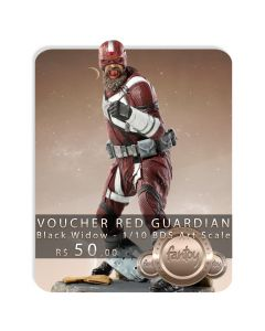 Voucher de Reserva - Red Guardian - 1/10 BDS Art Scale - Black Widow - Iron Studios